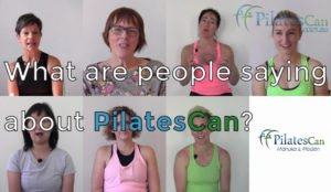 What people say about pilates can