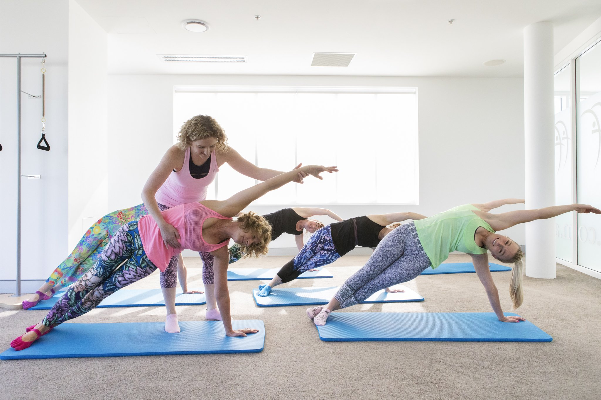 healthy body pilates mat course