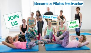 Pilates Can team saying 'Join Us'